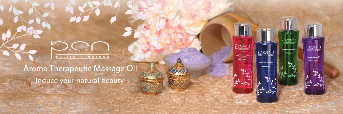 Aroma Therapeutic Massage Oil